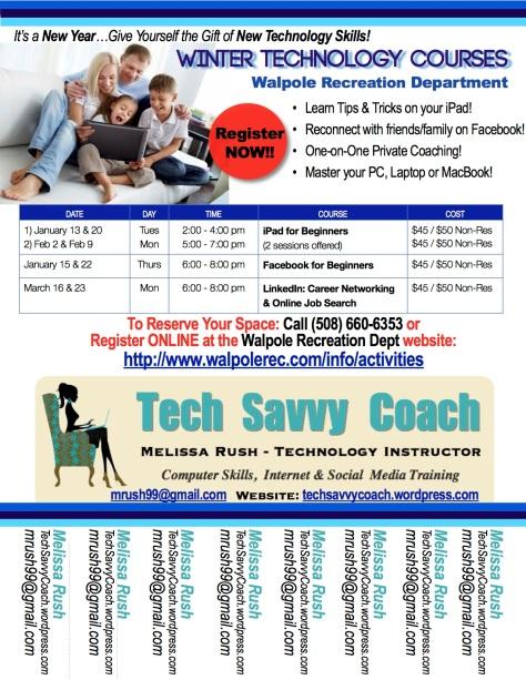 tech savvy coach social media consulting technology